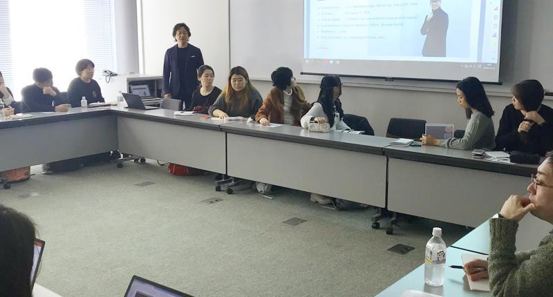「シンガポール国立大学」による、日本のファッション・ビジネスに関する学生研修に協力