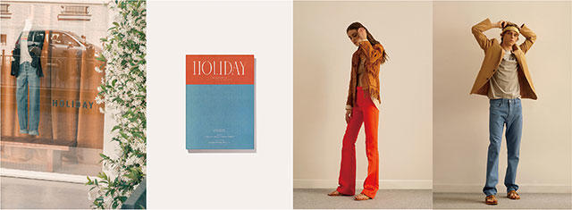 「HOLIDAY BOILEAU」 日本初POP-UP STOREをPOP BY JUNで開催