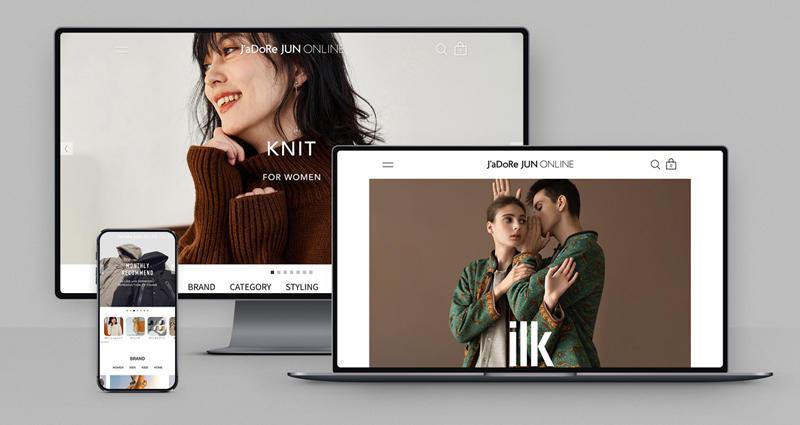 公式オンラインショッピングストア「J'aDoRe JUN ONLINE」がリニューアルしました
