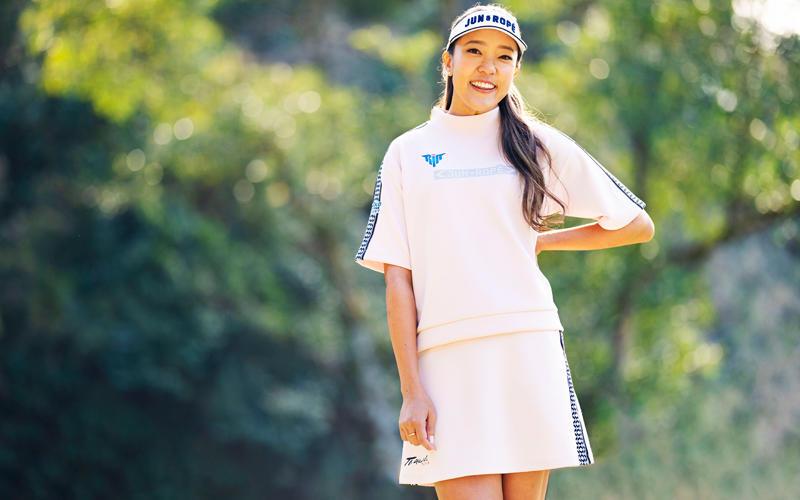 JUN&ROPE'が女子プロゴルファー【エイミー・コガ】選手とウェア契約を締結