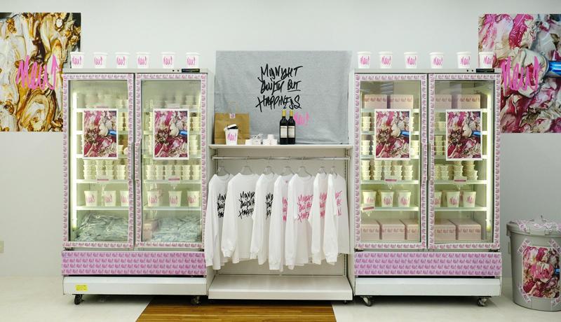 渋谷PARCO 1Fの「POP BY JUN」にアイスクリームブランド『NEW』が登場