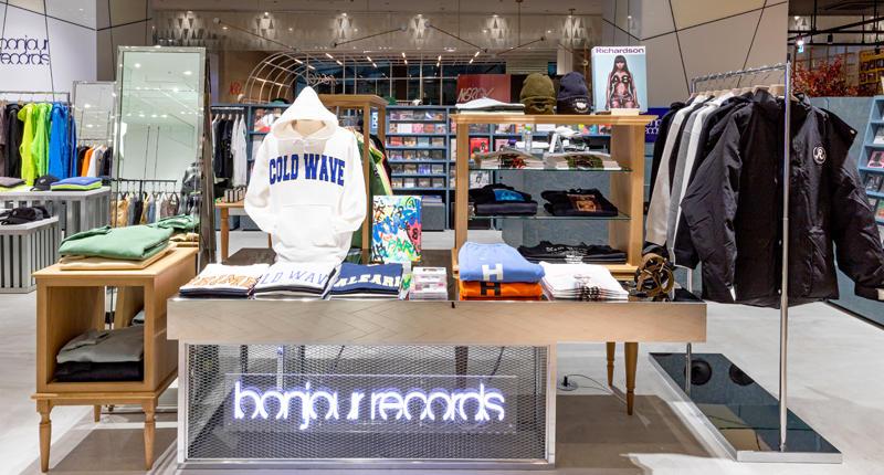 ボンジュールレコード、ナージーが 渋谷スクランブルスクエアにニューオープン