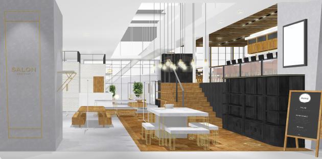 SALON adam et ropéの「食」に特化した新業態3店舗がオープン